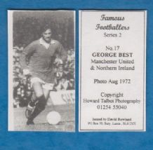 Manchester United George Best Northern Ireland 17